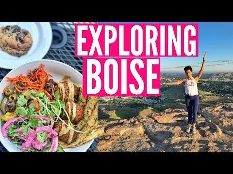 LAST DAY IN BOISE: Hiking, Eating, & Celebrating National Doughnut Day!