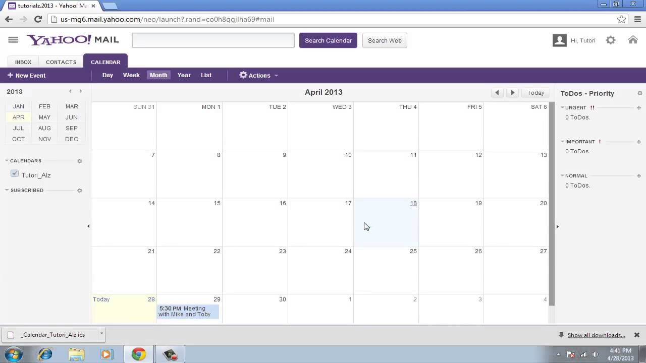 How to Switch from Yahoo Calendar to Google calendar