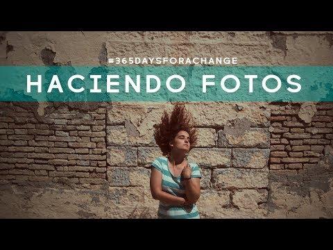 Haciendo fotos en Málaga #365daysforachange // África Villén