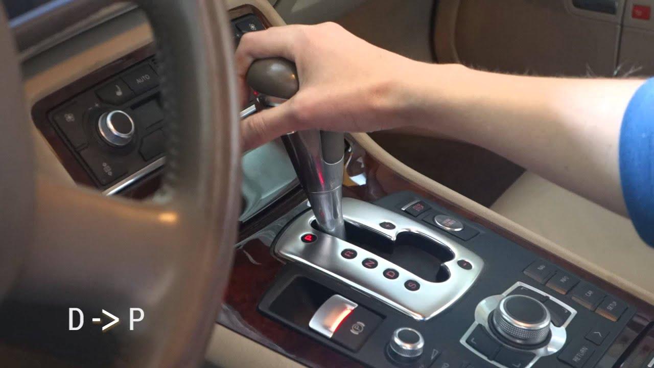Audi A8 D3 Automatic Transmission Change Gears Tiptronic Zmiana