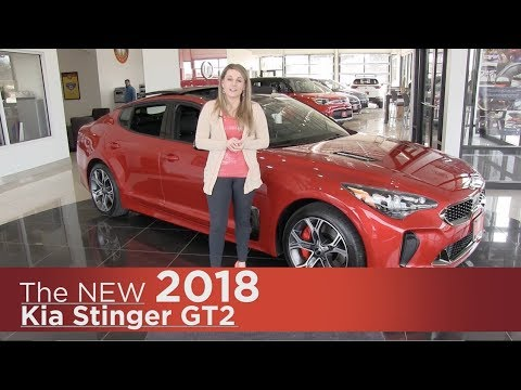 New 2018 Kia Stinger GT - Elk River, Brooklyn Park, Minneapolis, St Paul, St Cloud MN | Walk Around