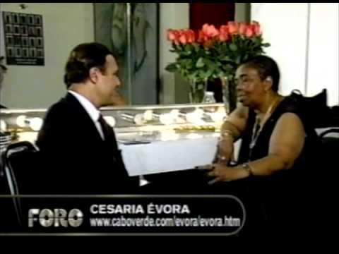 """Gilberto Marcos en entrevista para FORO con Cesária Évora la """"Diva descalza"""" (Q.E.P.D.)"""
