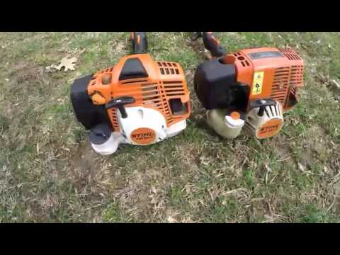 stihl kmr kombi system  mix gas trimmer  attachm doovi