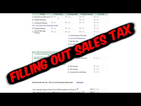 How To File Sales Tax For Small Business & Resellers