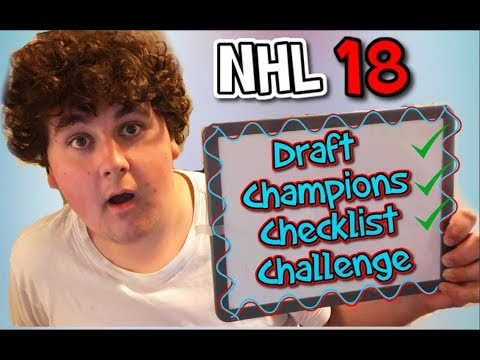 DRAFT CHAMPIONS CHECKLIST CHALLENGE EP.1