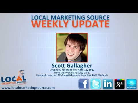 Location and Social Media / Updates to Search Engines