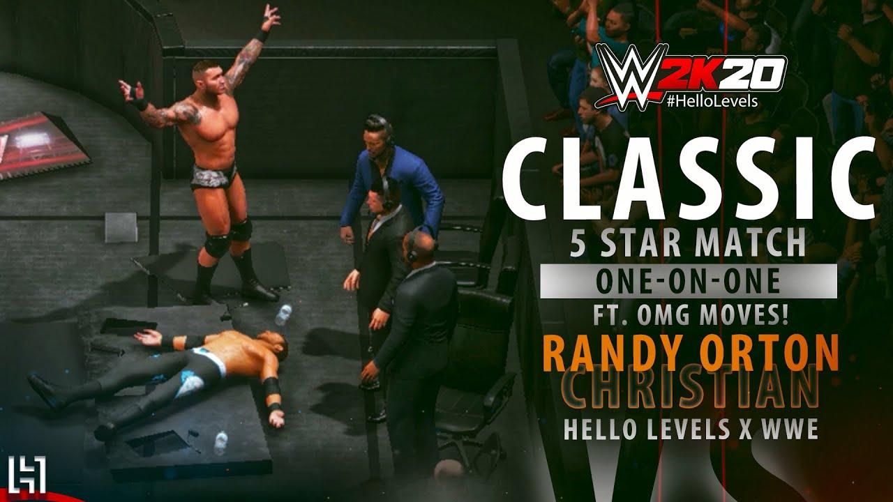 WWE 2K20 Randy Orton vs Christian Match Gameplay