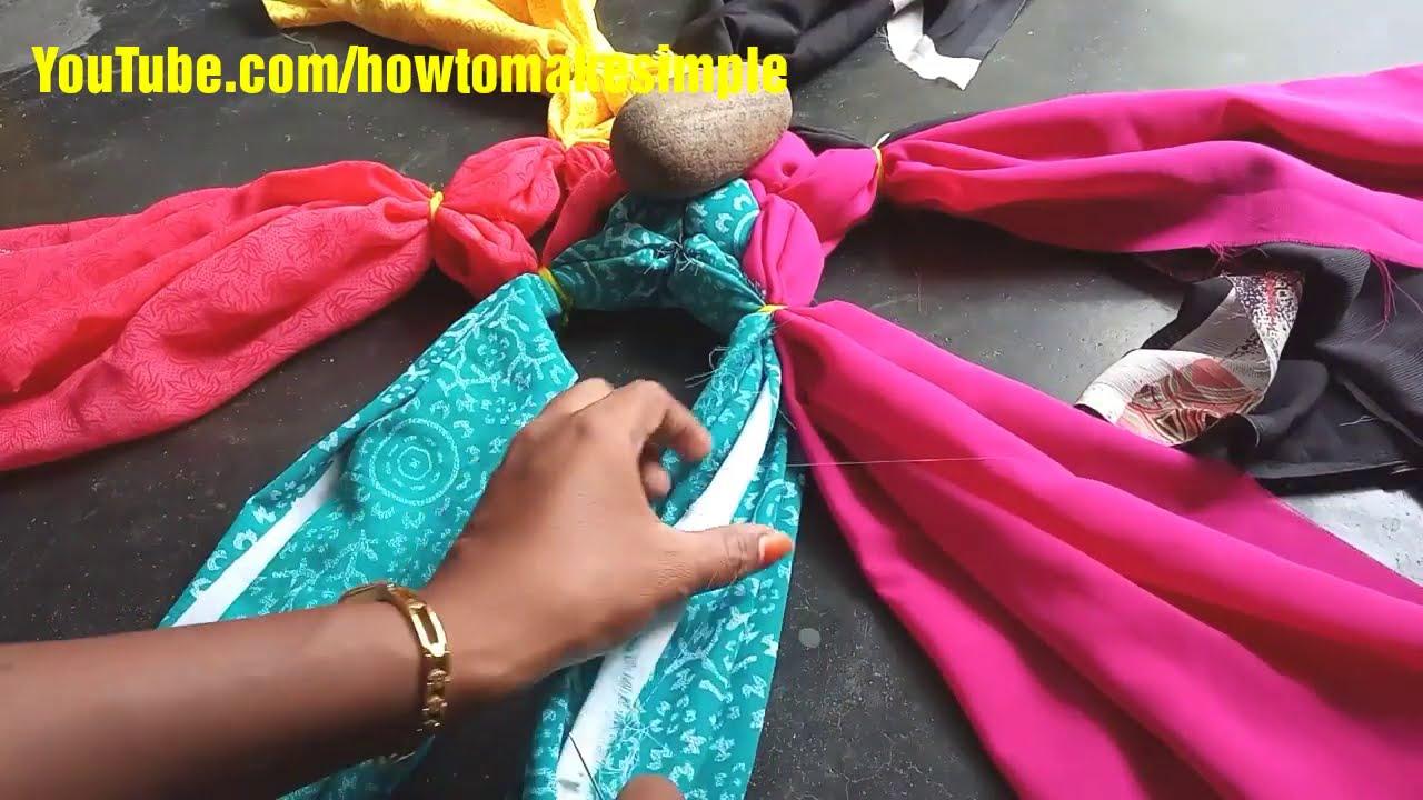 how to make simple doormat/carpet/rag rug from waste clothes || DIY Tapete | Paydan banane ka tarika