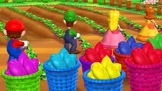 Mario Party 9 - All Tricky Minigames (2 Players)