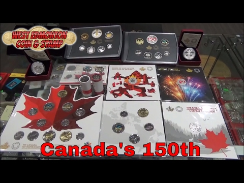 Canada's 150th Anniversary Coins - Commemorating the 150th Birthday of Canada - Royal Canadian Mint