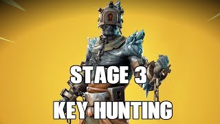 New Prisoner Skin + Stage 3 key hunting| Fortnite Stream