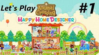 Let's Play: Animal Crossing Happy Home Designer