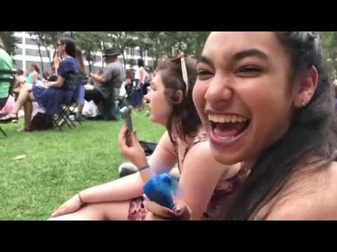 Vlog 7-13-17~ NYC Broadway Birthday Adventure!!!