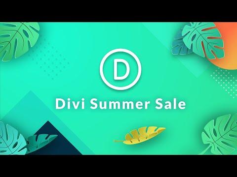 The Divi Summer Sale Has Arrived!
