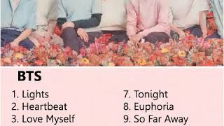 รวมเพลง BTS Songs 2019 (Chill & Soft Songs , Relaxing)