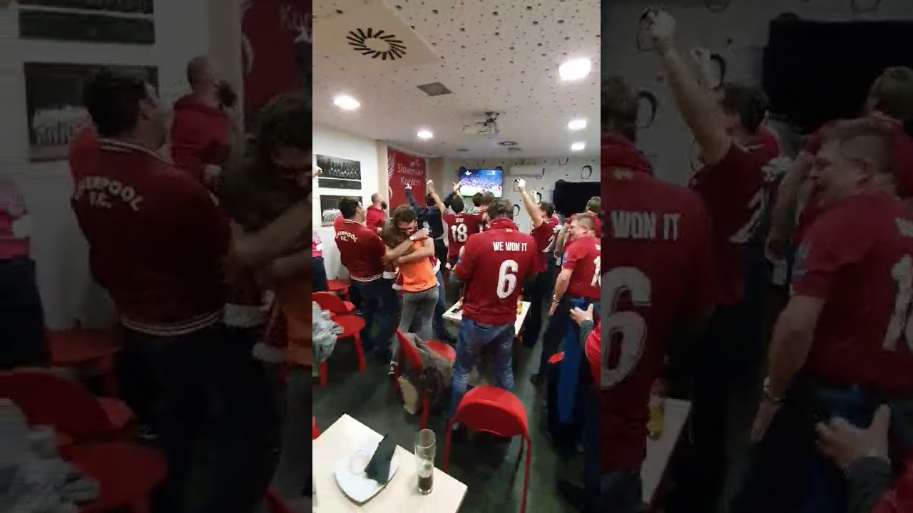 Liverpool vs Man Utd 2-0 (2019) celebrations OLSCSI ...