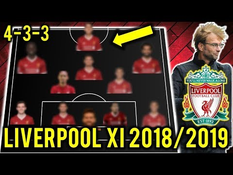 Liverpool Possible Line Up XI 2018/2019 Ft Fabinho, Salah, Fekir