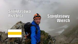 Szpiglasowa Przełęcz, Szpiglasowy Wierch (Tatry, czerwiec 2019)