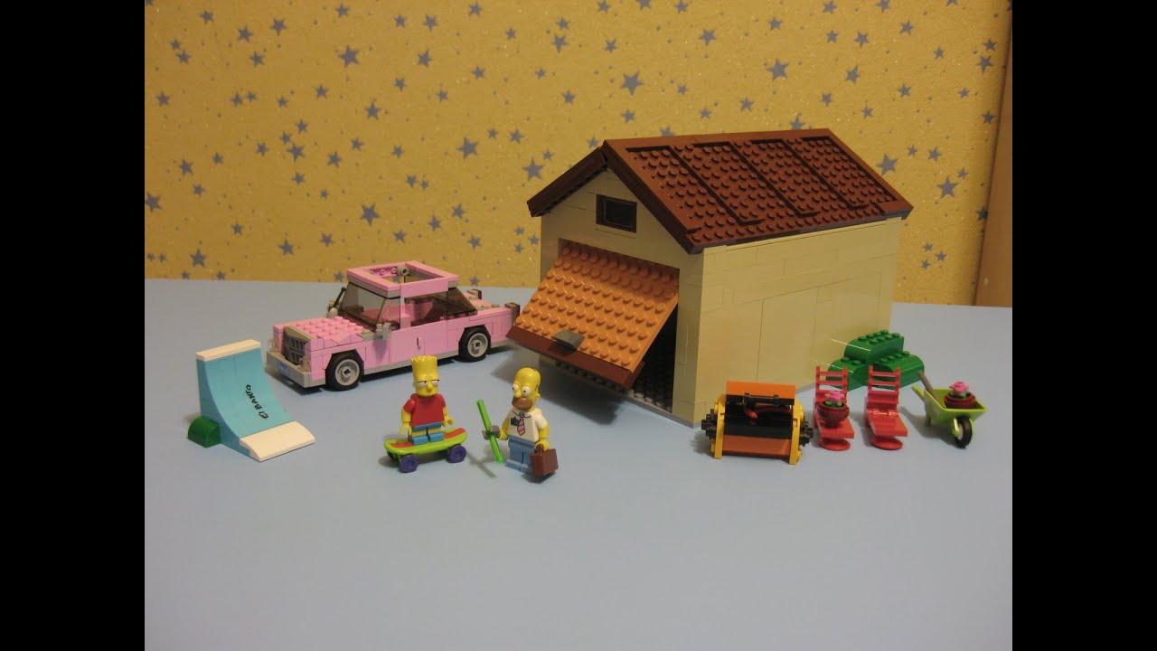 Лего Дом Симпсонов 71006, сборка гаража, Lego The Simpsons ...