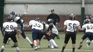 @jonjon_1212 ct football nb raiders vs Meriden Raiders