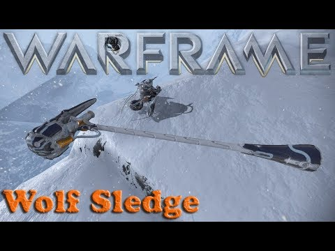 Warframe - The Wolf Sledge thumbnail