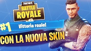 REAL VITTORY with my NEW SKIN FAVORITE! Fortnite Battle Royale ITA!