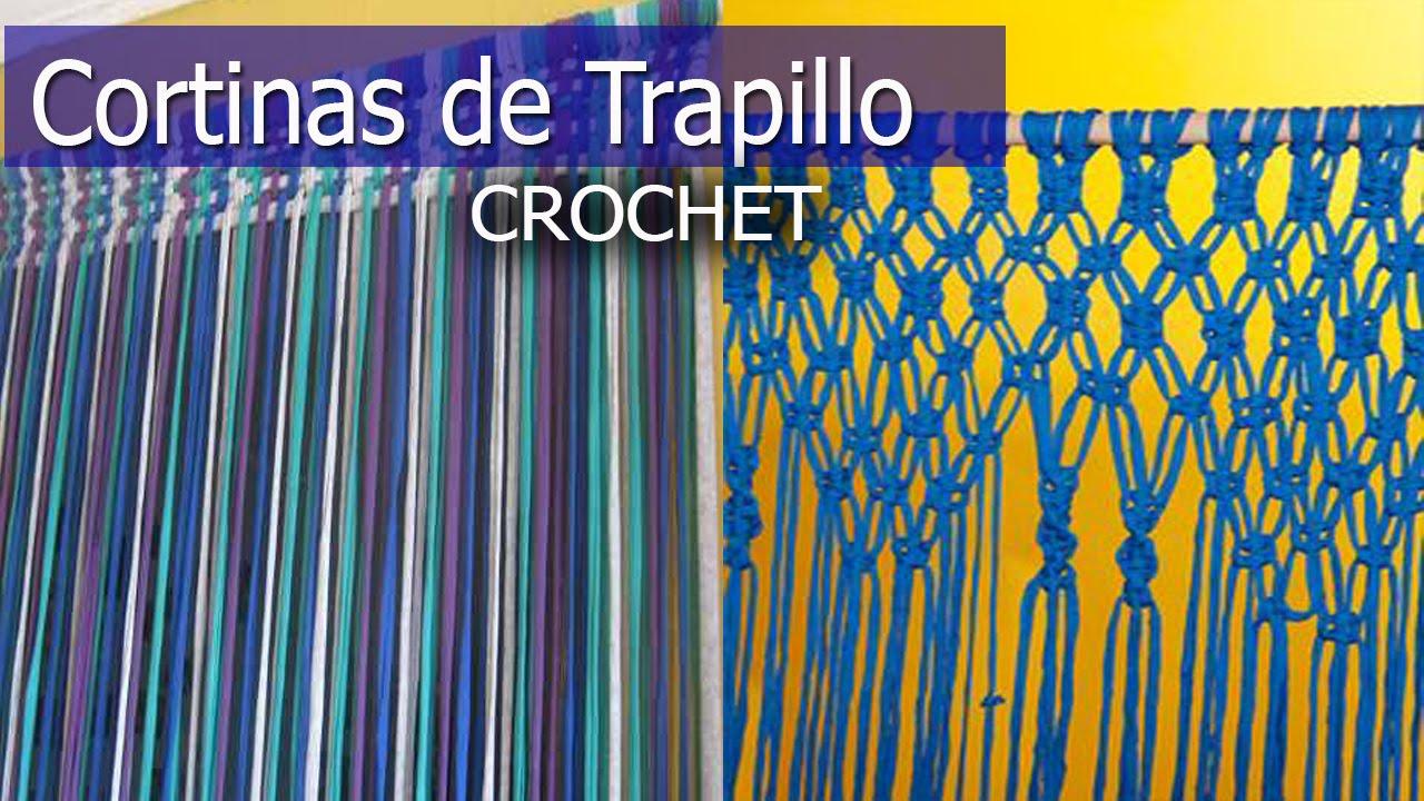 Cortinas de trapillo tejidas a mano dise os e ideas for Disenos de cortinas