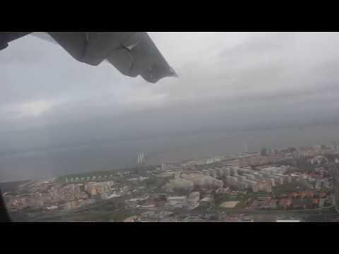Departure from Lisbon - Tap Express ATR-72-600