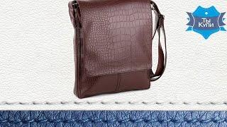 Видео обзор мужской коричневой сумки-планшет кайман