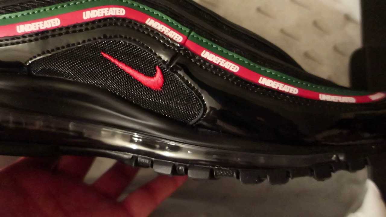 51166dcc44be Undefeated x Nike Air Max 97 -