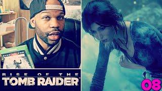Rise of the Tomb Raider Gameplay Walkthrough Part 8 - Molotov Cocktails! (Tomb Raider 2015)