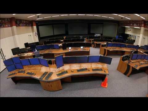 NASA Mission Control Room renovation timelapse