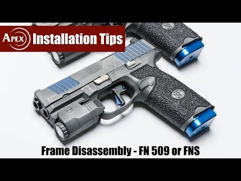 How To Disassemble The FN 509 Frame