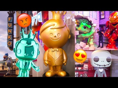 Our Love-Hate Relationship with the Funko HQ Grand Opening + (VLOG Footage)