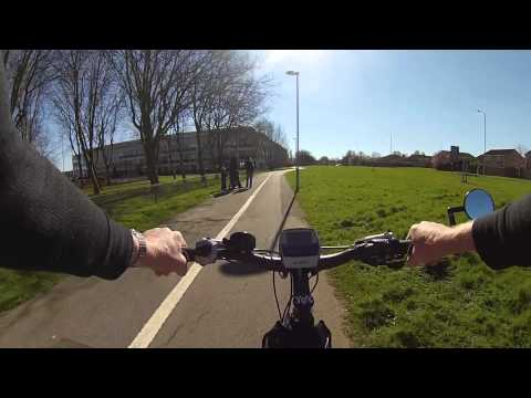Swindon Cycling Video.  County Ground to Coate Water.