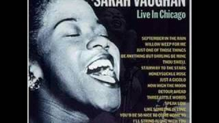 Sarah Vaughan - Thou Swell - Live in Chicago 1957