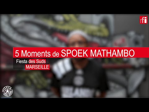 5 moments avec Spoek Mathambo à la Fiesta Des Suds