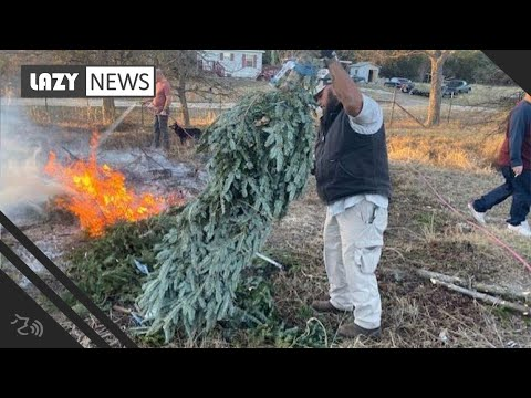 Bama, Rob & Heather - C'mon Get Happy: Veteran Turns Recycled Trees into Canes for Other Vets