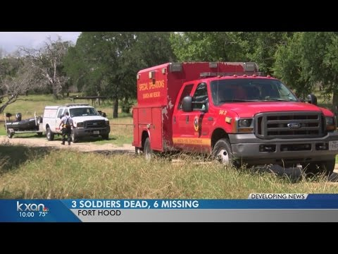 Fort Hood soldiers found dead when their truck overturned in swift water