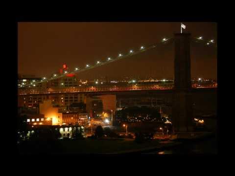 Brooklyn Bridge - from center of Manhattan Bridge walkway