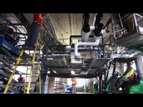 Multi-Trade Prefabricated Racks