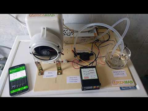 SmartPID - controllo temperatura di fermentazione a due canali