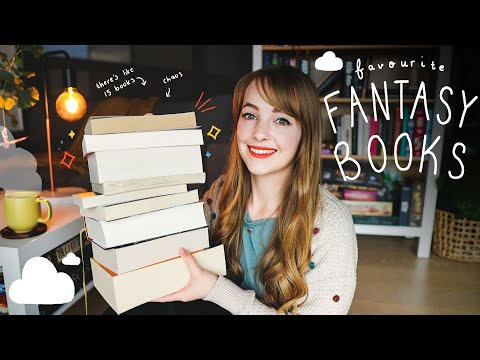 my favourite fantasy books of all time! 📖☁️