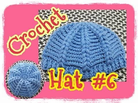 Crochet Hat Tutorial/Hat/baby hats:ถักหมวกไหมพรม หัวใจพองๆ  #6