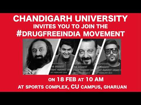 #ChandigarhUniversity Invites you to Join the #DrugFreeIndia Moment Mp3