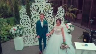 Свадебная регистрация снятая на квадрокоптер Mavic Pro