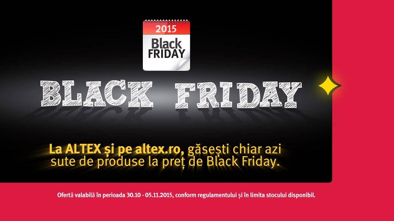 Reduceri Black Friday 2016 la Altex intre 20 octombrie si ...   Altex Black Friday