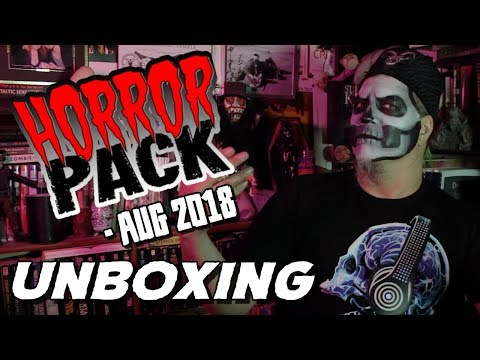Horror Pack August 2018 - Count Jackula Unboxing