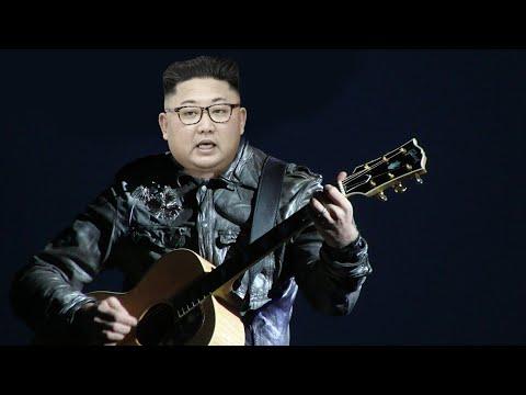 Kim Jong Un's Band Plays Van Halen, Pearl Jam For Dennis Rodman At House Party