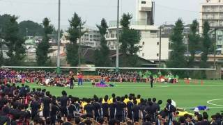 【実写版マリオ】浅野学園 体育祭2016 A組応援団